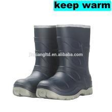 kids waterproof footwear warm rain boots