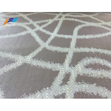 Tissu de rideau textile de maison de microfibre de polyester de coton
