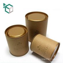 Характеристика вторичного сырья и подарок & Craft промышленного использования круглый высокого качества коробка олова для хранения чая или сахара