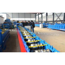 K Type Steel Rain Gutter Roll Forming Machine