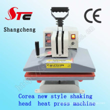 Korea Shaking Head Heat Press Machine38*38cm Manual Swing Away High Pressure Heat Transfer Machine T-Shirt Printing Machine Stc-SD02