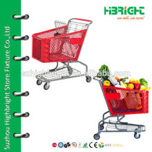 Пластиковая тележка для супермаркетов