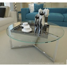 Salon de salon moderne Table de thé
