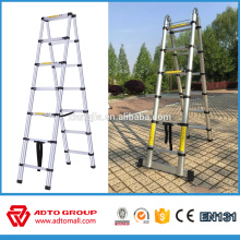 3.8 m telescopic ladder,aluminum telescopic ladder en131,combo telescopic