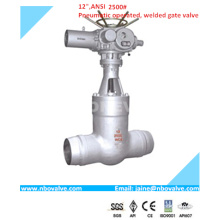 CE High Pressure Seal Butt Welded Gate Valve (12′′-2500lb)