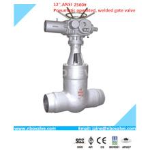 CE Válvula de Válvula Soldada com Extremidade de Selo de Alta Pressão (12 '' - 2500lb)