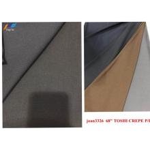 Дешевая полиэфирная флисовая ткань Toshi Crepe PD Jersey