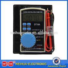Mini-multimètre numérique de poche DT10A avec plage automatique