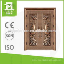 Popular in Nigeria market double leaf bullet proof doors