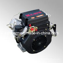 Air-Cooled Two Cylinder Diesel Engine for Open Frame Generator (2V86F)