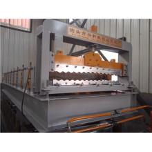 Máquina perfiladora de placas corrugadas para techos