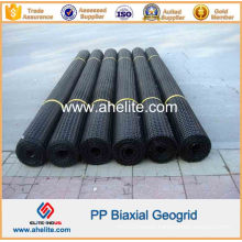 Plastic Biaxial Geogrid for Retaining Wall Reinforcement
