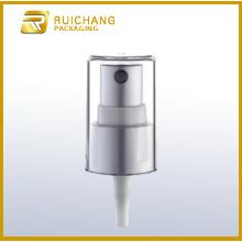 Pompe de pulvérisation cosmétiques en aluminium