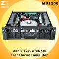 1200W professionnel Audio Karaoke PA amplificateurs (MS1200)
