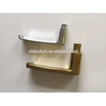 aluminum bathroom sliding door handle and lock and cover plates