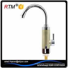 B17 4 14 fast electric hot water tap brass kitchen faucet