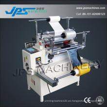 Jps-500tq Adehsive cinta y espuma de laminación de la máquina de corte horizontal