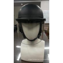 Подгонянный шлем полиций управления забрала стороны анти- бунта полиций прозрачный контролирует с материалом ABS или ПК