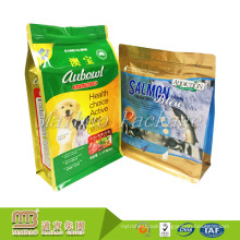 China Manufacturer Oem Customized Order 8 Side Sealed Pet Food Packaging Bag Plastic Laminated Pouch