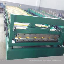 Professional customized length roof ridge cap press machine