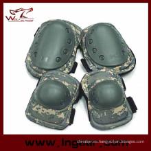 Almohadillas de protección militar conjuntos jardín rodilla Pad táctico rodilla y codo