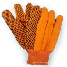 Gepunktete Baumwollhandschuhe Segeltuchhandschuhe Garten-Arbeitshandschuh