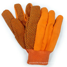 Dotted Cotton Gloves Canvas Gloves Garden Work Glove