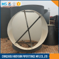 Large Size Heat Treatment Steel Buttweld Tee