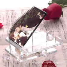 Marco de fotos de cristal, marco de fotos de vidrio, diseño privado (JD-XK-079)