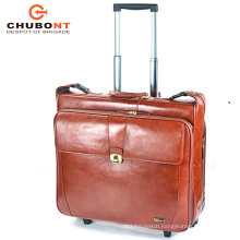 Chubont High Quaility Hot Sell Cow Leather Suitcase