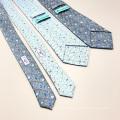 Handgemachte Seide Custom Print Tie mit Selbstkippung