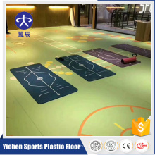 Yichen PVC surface d'impression gym tapis de sol multifonction