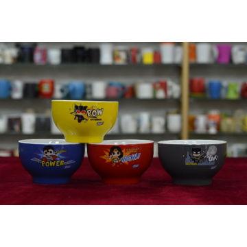Cartoon Color Promotion Bowl