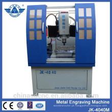 Todo coberto de roteador de metal gravura máquina cnc com servo motor e eixo refrigerar de água