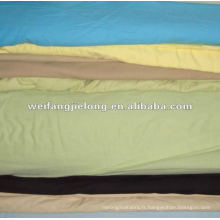 100% coton 40x40 100x80 draps teints unis tissu stock coton teints unis draps de lit teints unis draps de lit