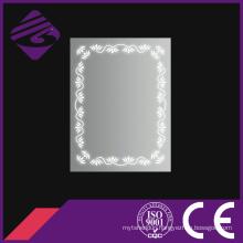 Jnh245 Bathroom Anti-Fog LED Sensor Mirror with Beauitful Patterns