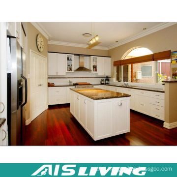 15 Years Factory Offer Acrylic MDF Door Kitchen Cabinet (AIS-K713)