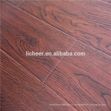 Revêtement de sol en bois imitation en surface EIR revêtement de sol stratifié intérieur / facile