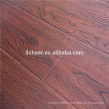 Piso de madeira imitado da superfície de EIR revestimento interior / fácil do assoalho laminado do clique