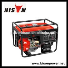 BISON (CHINA) générateur de soudage à l'essence haute qualité BS6500WG