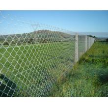 Panneau de clôture portable à maille mous de mouton galvanisé, panneau de clôture soudé, panneau de clôture de construction temporaire portable