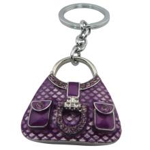 The purple purse keychain