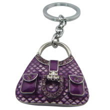Die lila Tasche Schlüsselbund