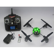 Мини WL V939 4CH 2.4G 3D 4-осный вертолет RC Bettle Божья коровка Quadcopter НЛО