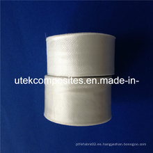 0.1mm Espesor 25mm Ancho Cinta de fibra de vidrio para el cable de Wraping