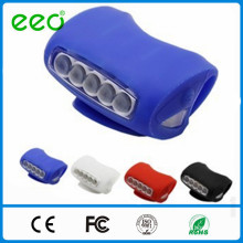 wholesale Bicycle Colour muti-function silicone Light,Bike accessories with 7 LEDs silicone rubber bike light