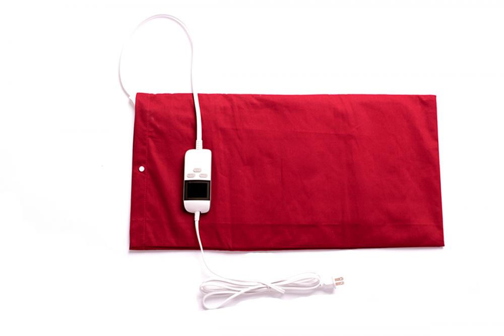 UL Disetujui Moist / Dry Body Heating Pad dengan LCD Display 8 Heat Settings 6 Timer Settings King Size
