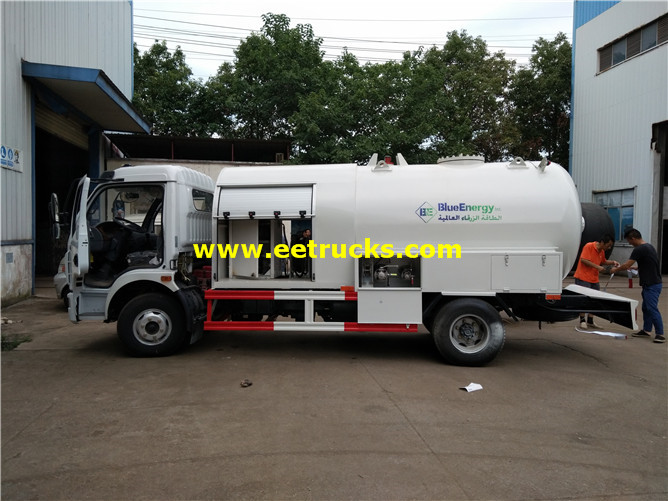 2000 Gallons 3 5t Propane Dispenser Trucks
