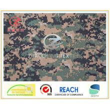 1000d Nylon Cordura Camouflage Printing, American Style, PU Coated Military Bulletproof Vest Fabric (ZCBP022)