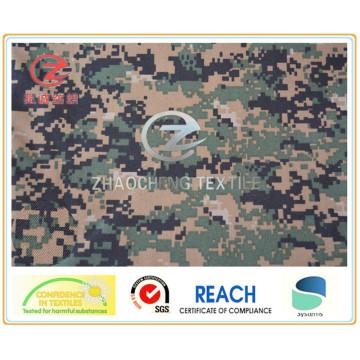 1000d Nylon Cordura Camouflage Druck, American Style, PU beschichtet Military Bulletproof Weste Stoff (ZCBP022)
